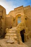 Pueblo pise-emparedado iraní imágenes de archivo libres de regalías