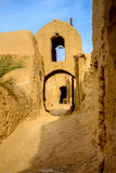 Pueblo pise-emparedado iraní fotos de archivo
