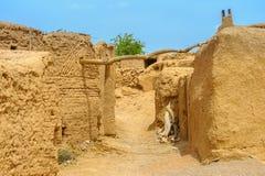 Pueblo pise-emparedado iraní foto de archivo