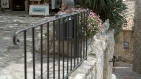 Pueblo romano histórico en Eze metrajes
