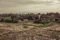 Pueblo rural en Bali imágenes de archivo libres de regalías