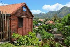Pueblo rural en Madagascar, África Fotografía de archivo libre de regalías