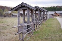 Pueblo ruso Foto de archivo