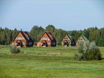 Pueblo ruso en la región de Kaluga Imagenes de archivo