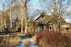Pueblo ruso Paltsevo Fotografía de archivo