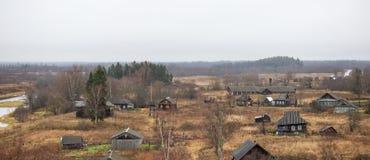 Pueblo ruso Selco-carelio Fotografía de archivo