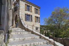Pueblo San Pablo de Vence, Provence Fotos de archivo libres de regalías