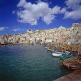 Pueblo siciliano fotografía de archivo libre de regalías