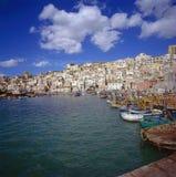 Pueblo siciliano Fotografía de archivo