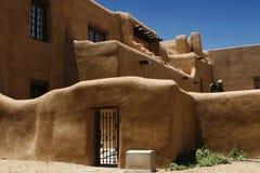 Pueblo style barred dormers Stock Photo