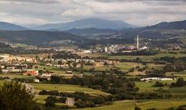 Pueblo Suances Cantabria españa Foto de archivo libre de regalías