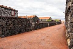 Pueblo típico de las Azores Fotos de archivo libres de regalías