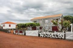 Pueblo típico de las Azores Fotografía de archivo libre de regalías