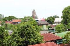 Pueblo tailandés viejo, pueblo foto de archivo libre de regalías