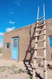 Pueblo in Taos Stock Image