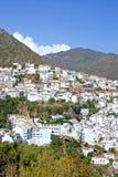 Pueblo Town Of Ojen Near Marbella In Spain Stock Photos
