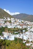Pueblo town of Ojen near Marbella in Spain Stock Photos