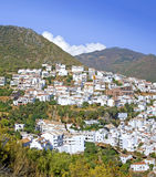 Pueblo town of Ojen near Marbella in Spain Stock Image
