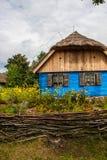 Pueblo tradicional en Polonia Foto de archivo libre de regalías