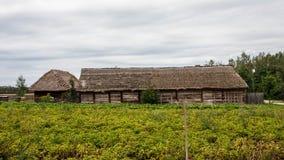 Pueblo tradicional en Polonia Imagen de archivo libre de regalías