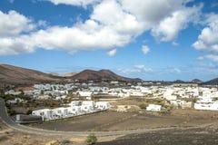 Pueblo Uga en Canarias Lanzarote Foto de archivo