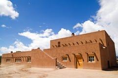 Pueblo van San Ildefonso royalty-vrije stock fotografie