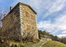 Pueblo viejo de Doganbey Foto de archivo