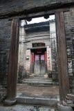 Pueblo viejo del campo de Longtan en Yangshuo, China Imagenes de archivo
