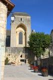 Pueblo viejo del Santo-Amand-de-Coly Imagen de archivo libre de regalías