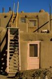 Pueblo village stock photos