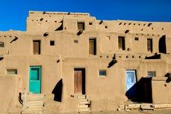 Pueblo village Royalty Free Stock Images