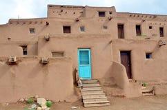 Pueblo von Taos Lizenzfreie Stockbilder