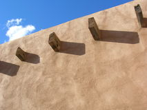 Pueblo Wall Royalty Free Stock Photo