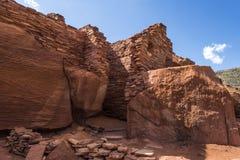 Pueblo at Wupatki National Park Stock Photography