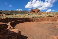 Pueblo at Wupatki National Park Royalty Free Stock Photo