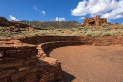 Pueblo at Wupatki National Park Royalty Free Stock Photos