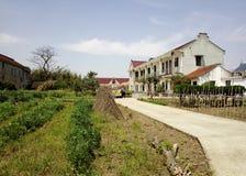 Pueblo y cortijo del sur chinos foto de archivo libre de regalías