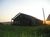 Pueblos abandonados imagen de archivo libre de regalías