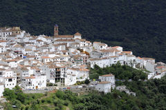 Pueblos Blanco village in Andalusia Stock Images