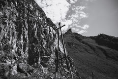 Pueblos de montaña de la electrificación altai Rusia Imagen de archivo libre de regalías