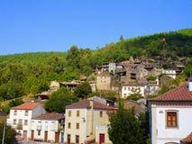 Pueblos del esquisto de Portugal central foto de archivo libre de regalías