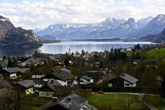 Pueblos en Austria Fotos de archivo libres de regalías