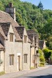 Pueblos Inglaterra Reino Unido de Cotswolds foto de archivo libre de regalías