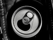 Pueda de estilo del monocromo de la cerveza Foto de archivo libre de regalías