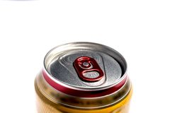 Pueda de la cerveza imagen de archivo