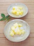 Pueda de la ensalada de fruta imagen de archivo