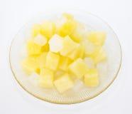 Pueda de la ensalada de fruta foto de archivo libre de regalías