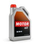 Pueda del aceite de motor libre illustration