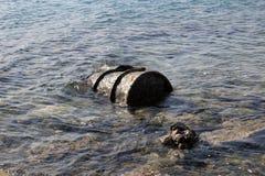 Pueda en el mar Imagenes de archivo