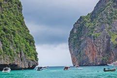 Puede aullar la playa Tailandia Imagen de archivo